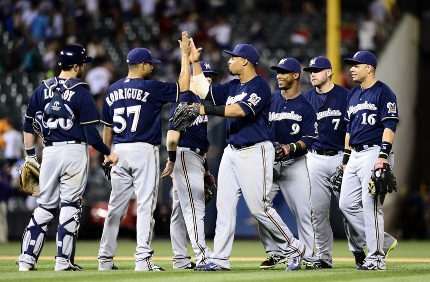 MLB: Milwaukee Brewers at Colorado Rockies