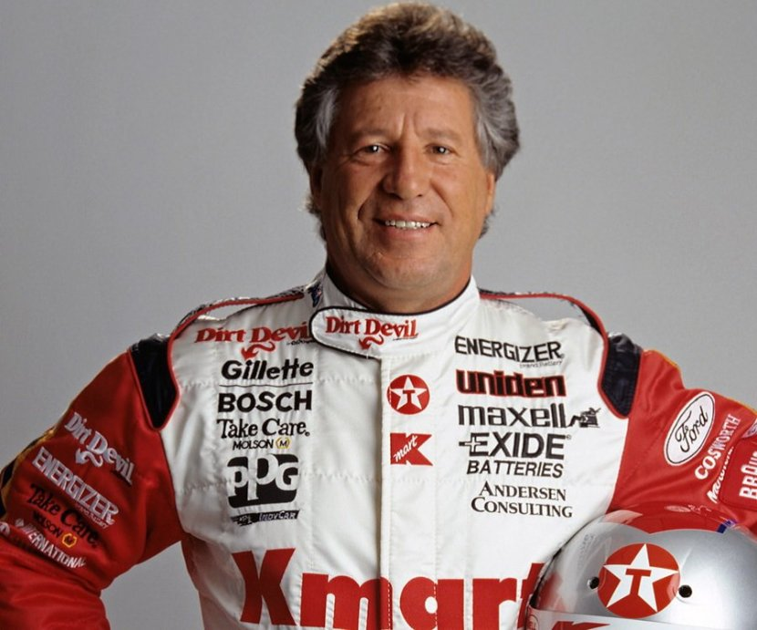 Racing Legend Mario Andretti on Brown and Scoop