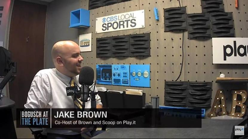 Jake Brown Guest Spot On Bogusch At ThePlate