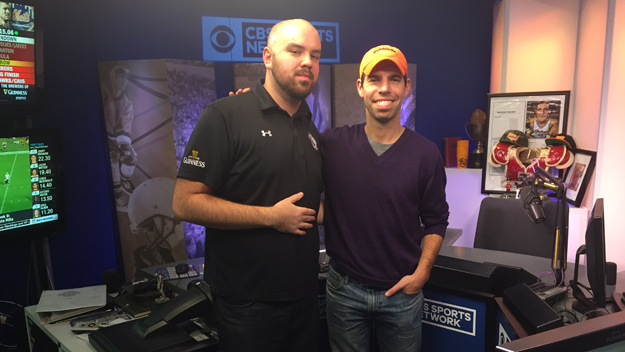 CBS Sports Radio's Damon Amendolara on The Jake Brown Show