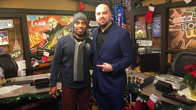 Former Giants RB Tiki Barber on The Jake Brown Show