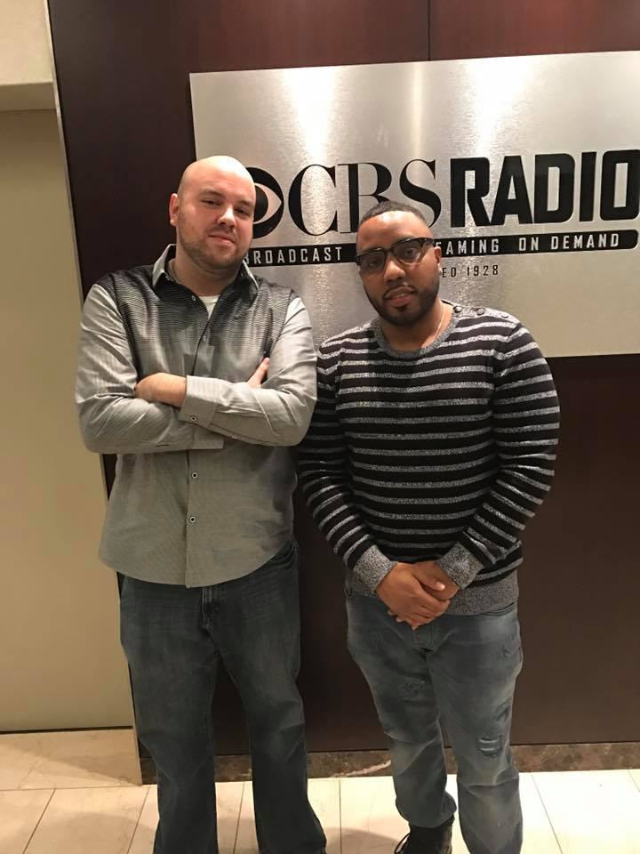 Mims in studio on The Jake BrownShow