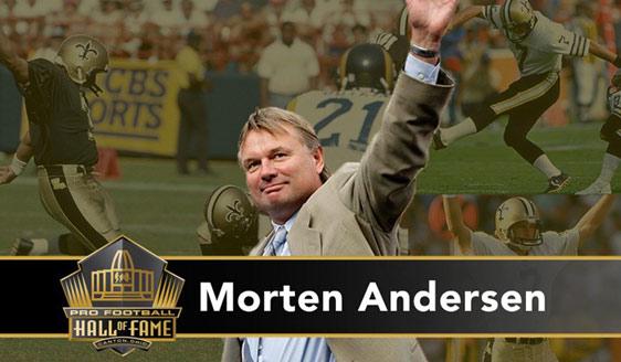 Pro Football Hall of Fame Kicker Morten Andersen on The Jake BrownShow