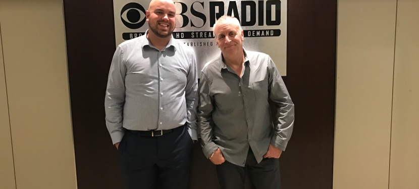 Comedian Vic Dibitetto on The Jake BrownShow
