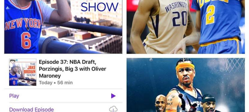 Episode 37: The Jake Brown Show – Porzingis, NBA Draft, Big 3 with Oliver Maroney