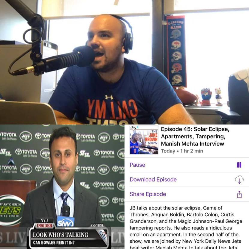 Episode 45: The Jake Brown Show – Solar Eclipse, Manish Mehta Interview (8/21/17)