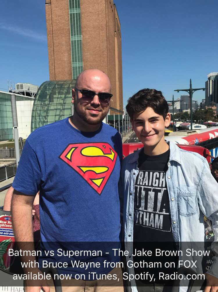 Actor David Mazouz on The Jake Brown Show (10/4/17)