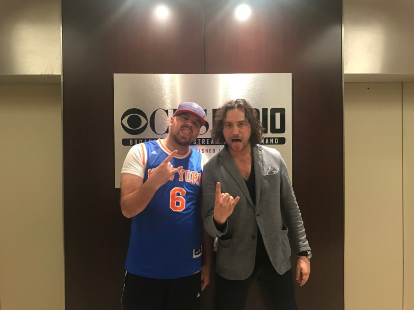 Constantine Maroulis from American Idol co-hosts The Jake Brown Show(10/24/17)