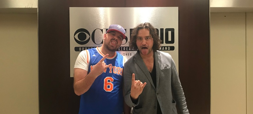 Constantine Maroulis from American Idol co-hosts The Jake Brown Show (10/24/17)