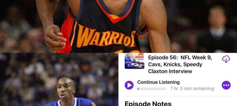 Episode 56: The Jake Brown Show with NBA champion Speedy Claxton(11/7/17)