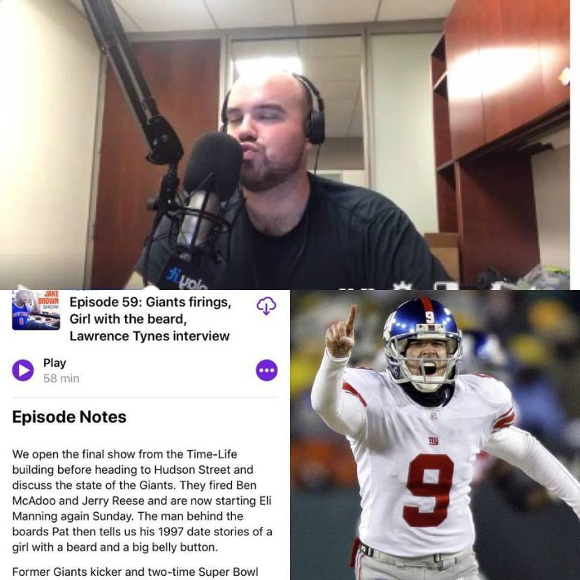 Episode 59: The Jake Brown Show with Giants two-time Super Bowl champion Lawrence Tynes (12/5/17)
