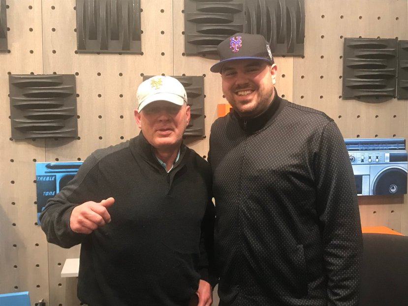 1986 Mets World Series Champion, 3-time Phillies All Star Lenny 'Nails' Dykstra in studio on The Jake Brown Show for a third, final time (3/21/18)