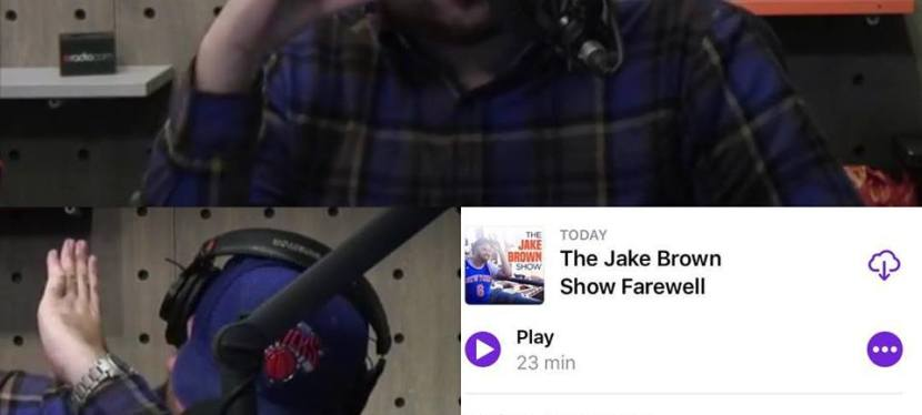 The Jake Brown Show Farewell (3/29/18)