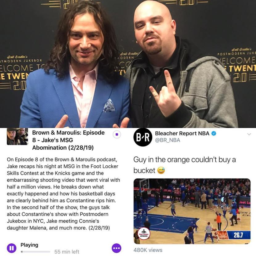 Brown & Maroulis Podcast: Jake's MSG Shooting Debacle (2/28/19)